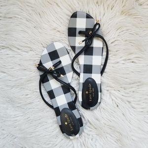 Kate Spade Gingham Sandals